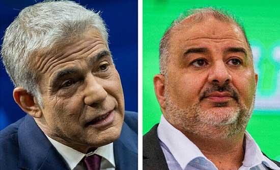 """بعد لقائه نائبا ليكوديا.. رئيس """"العربية الموحدة"""" يجتمع مع أحد أكبر خصوم نتنياهو"""