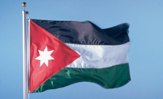 حملة لتوزيع العلم الأردني بمديرية تربية الكورة