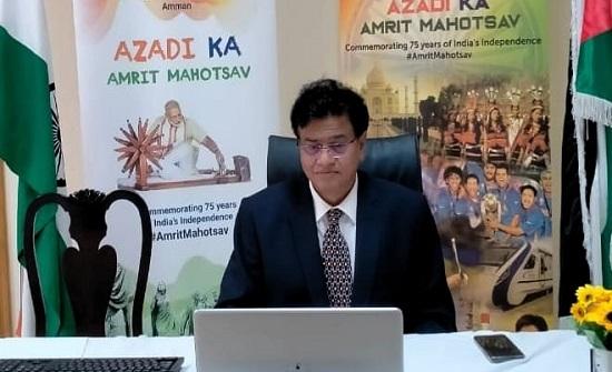 السفير الهندي يؤكد عمق العلاقات بين الأردن وبلاده