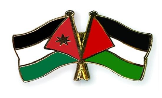 شاهد بالفيديو ..  فلسطينيون في المسجد الأقصى يدعون للأردن