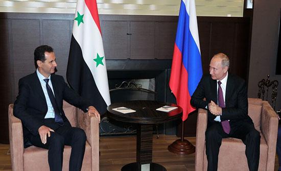 الكرملين: بوتين يبلغ الأسد ببنود مذكرة التفاهم الروسية التركية والرئيس السوري يؤكد دعمه
