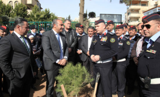 الامانة وإدارة السير تحتفلان بعيد جلالة الملك ويوم الشجرة