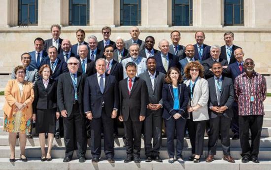 انتخاب السفير الحمود رئيسا للجنة القانون الدولية الاممية