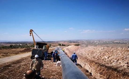 """مطالبات بصرف تعويضات استملاك أراضي لـ""""الغاز الإسرائيلي"""""""