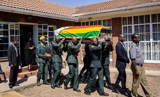 حكومة زيمبابوي : موغابي توفي بسبب السرطان