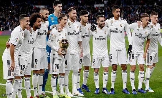 انتهاء الحجر الصحي على لاعبي ريال مدريد