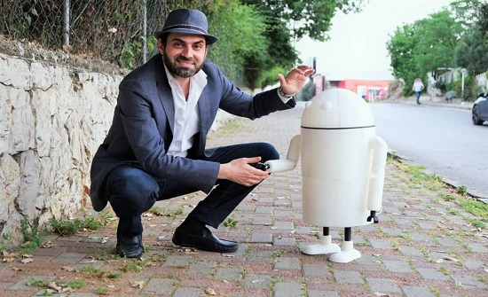 أول روبوت لبناني يترشح للانتخابات النيابية
