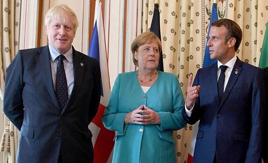 """بريطانيا وألمانيا وفرنسا تحمل إيران مسؤولية استهداف """"أرامكو"""""""