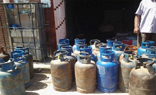 تراجع الطلب على الغاز بمعدل 70 الف اسطوانة