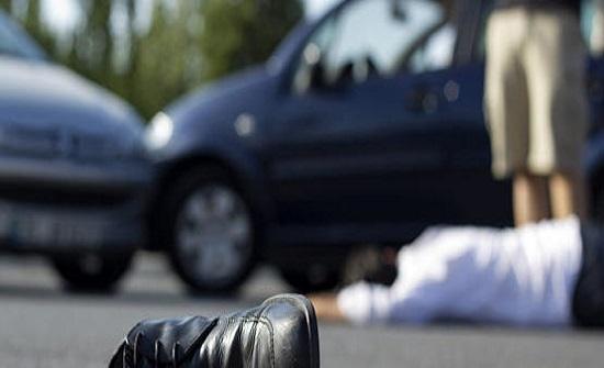 وفاة شخص دهسا على طريق المطار
