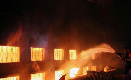 مصرع 19 شخصا في حريق بمصنع شرقي الصين