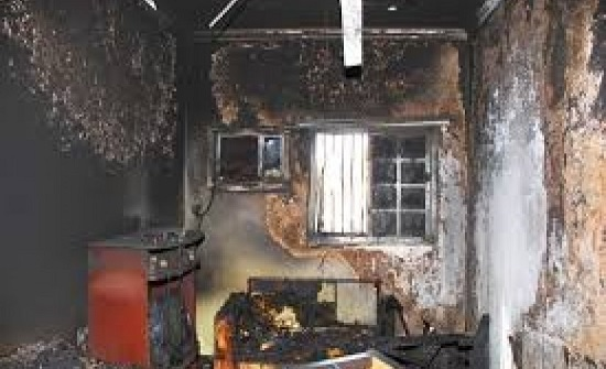 امريكا : طفل ينقذ أخاه من حريق في منزلهم ثم يقفز من الطابق الثاني !