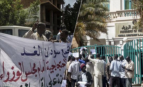 """الخرطوم.. محتجون يطالبون بوقف مفاوضات سد """"النهضة"""""""