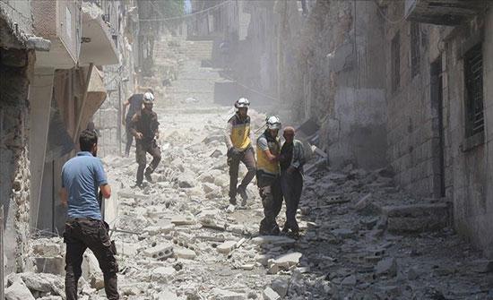 مقتل 3 مدنيين إثر قصف جوي للنظام وروسيا في إدلب