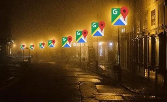 جوجل تضيف خدمة إنارة الشوارع لخرائطها