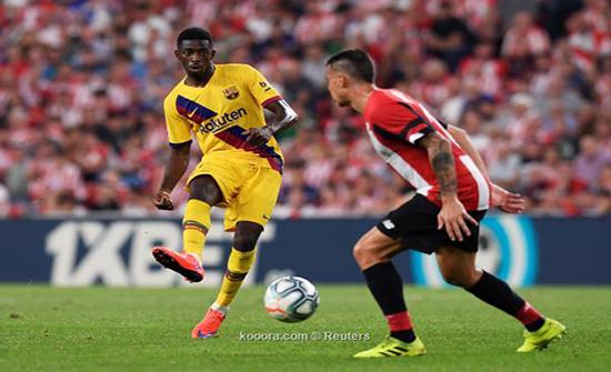 برشلونة يهدد ديمبلي