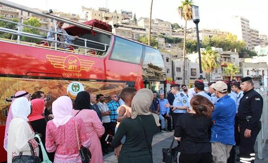 جولة رمزية رافضة لحوادث السير تجوب عمان عنوانها: عيدنا بسلامتنا