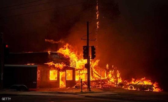 وفاة اردني بحرائق كاليفورنيا