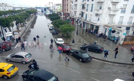 تونس: أمطار تعطل حركة المرور