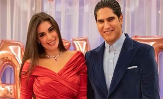 بقلب على صورتها.. أحمد أبو هشيمة يحتفل بعيد ميلاد ياسمين صبري