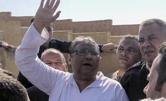 الأمم المتحدة ترحب بإفراج السلطات المصرية عن الصحفي محمود حسين