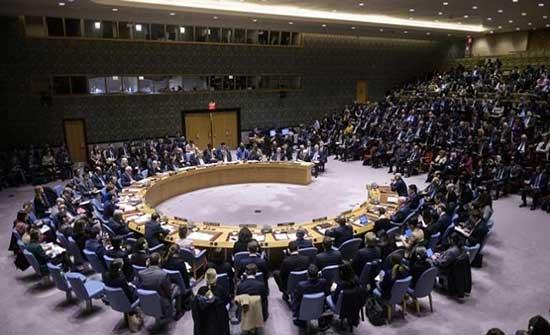 مجلس الأمن يرحب باتفاق وقف إطلاق النار بين الاحتلال والفلسطينيين