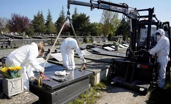 إسبانيا: 849 وفاة ضحايا كورونا في 24 ساعة