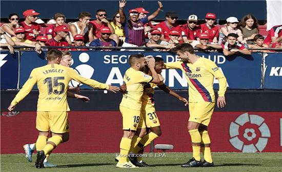 برشلونة يعلن اصابة أنسو فاتي  في أربطة الركبة