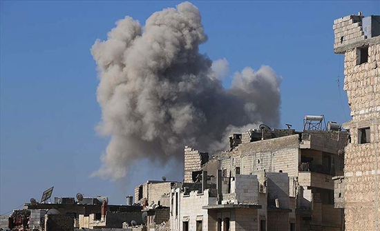 قصف روسي على معسكر للمعارضة بإدلب يخلف خسائر في الأرواح