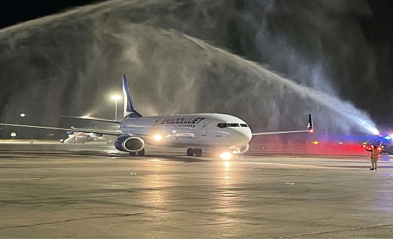 مطار الملكة علياء يستقبل أولى رحلات طيران أناضول جت