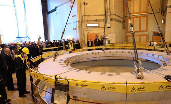 """إيران تعلن بدء العمل على مفاعل نووي جديد مشابه لـ""""أراك"""""""