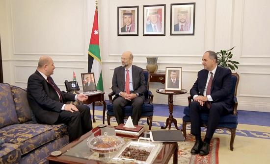 الرزاز يلتقي وزير العدل العراقي