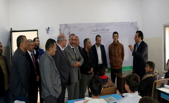 أمين عام التربية يتفقد عدداً من المدارس في عجلون