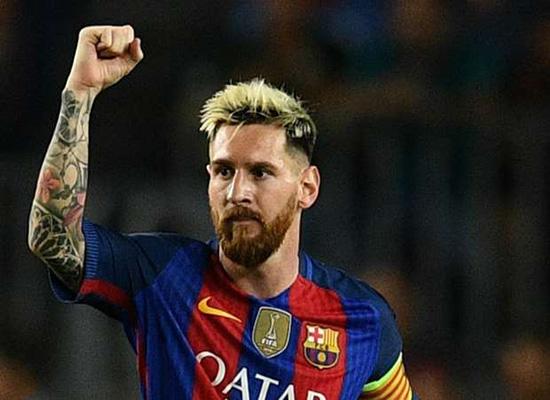 ميسي يكسر رقم أسطورتي ريال مدريد