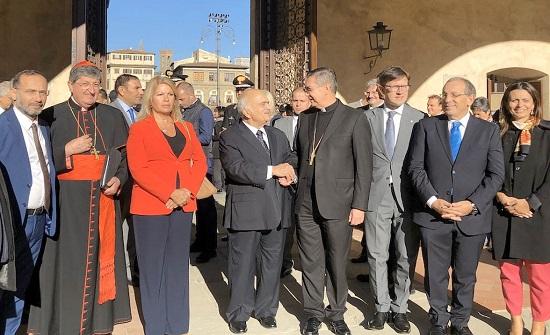 الأمير الحسن بن طلال يختتم زيارة عمل إلى الفاتيكان وروما وفلورنسا