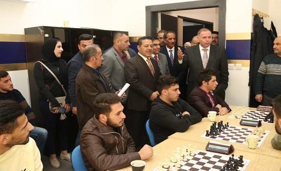 """اختتام بطولة """"الباقورة والغمر"""" للشطرنج في """"عمان العربية"""""""