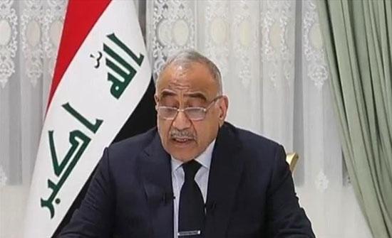 عبد المهدي: مشروع شبكات الكهرباء الجديد سيحسن توصيلها للمنازل