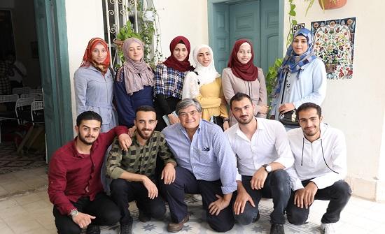 25 طالبا سوريا يحصلون على منح للدراسة في جامعة الزرقاء من معهد أتلانتك