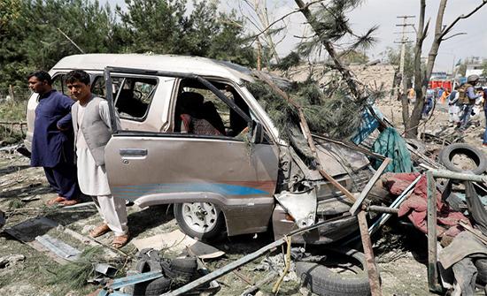 افغانستان : 15 قتيلا على الأقل في هجوم بسيارة مفخخة