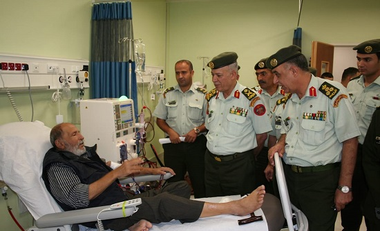 التميمي يتفقد مستشفى الأمير راشد بن الحسن
