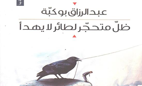 """صدور المجموعة القصصية """"ظِلّ متحجر لطائر لا يهدأ"""" لعبدالرزاق بوكبّة"""