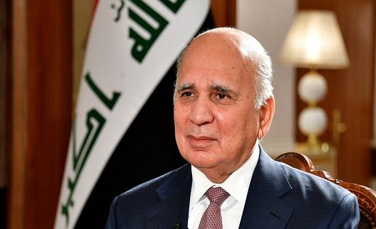 وزير خارجية العراق: نعمل على عقد قمة بغداد مع الاردن ومصر بعد عيد الفطر