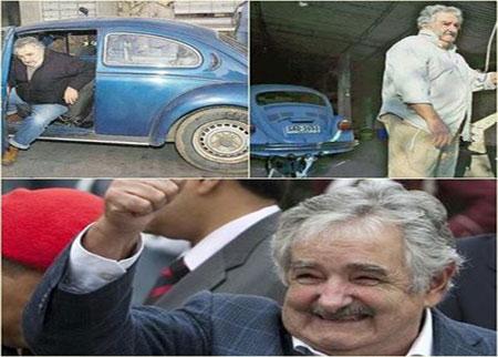رئيس الأوروغواي أفقر الرؤساء في العالم ( صور )