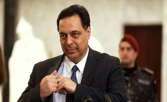 رئيس وزراء لبنان يدعو لرد قاس على مثيري الشغب