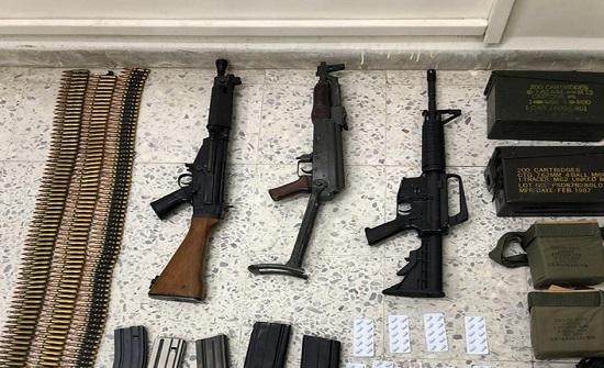 القبض على ٧٤ شخصاً في حملة ضد السلاح غير المرخص