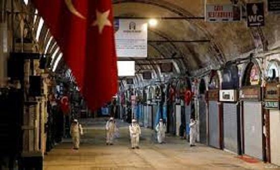 تركيا اصابات كورونا اليومية تتجاوز 60 الفا لليوم الرابع على التوالي