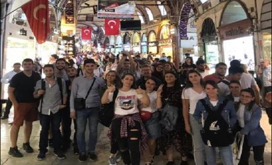 """اختيار طلبة من """"الشرق الاوسط"""" للدراسة في الخارج ضمن برنامج ايراسموس بلس"""