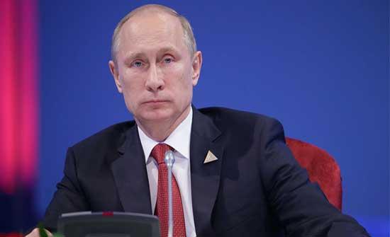 بوتين: يجب إيجاد حل للصراع الفلسطيني الإسرائيلي على أساس إقامة دولتين