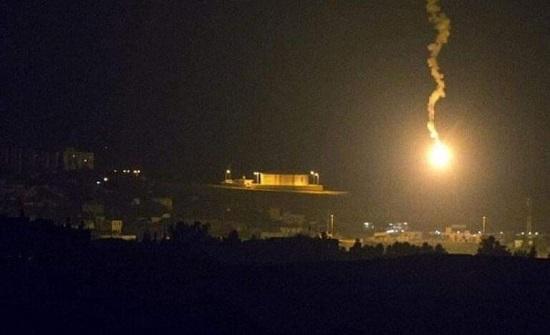 الجيش السوري يعلن عن هجوم إسرائيلي بالصواريخ طال المنطقة الجنوبية