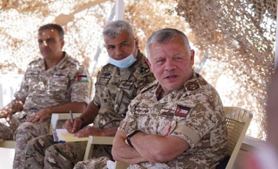 الملك يؤكد على ضرورة تعزيز الدعم اللوجستي لوحدات حرس الحدود